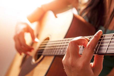 Отделение гитары